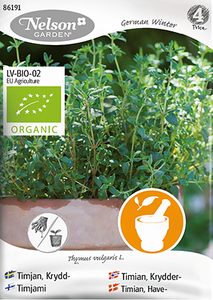Bilde av Timian 'German Winter' - Thymus vulgaris, Organic