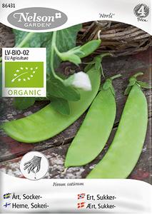 Bilde av Ert 'Norli' - Sukkerert - Organic