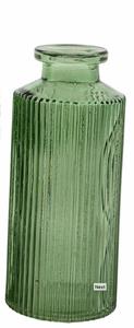 Bilde av Minivase, Amadeo stripe, grønn 13 cm
