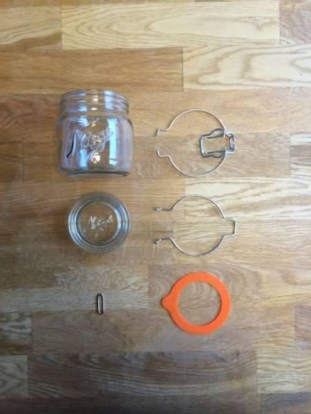 Norgesglass 0,4l – hengslet lokk
