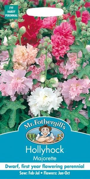 Stokkrose 'Majorette' - Alcea rosea
