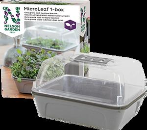 Bilde av Minidrivhus -  Micro Leaf 1-boks