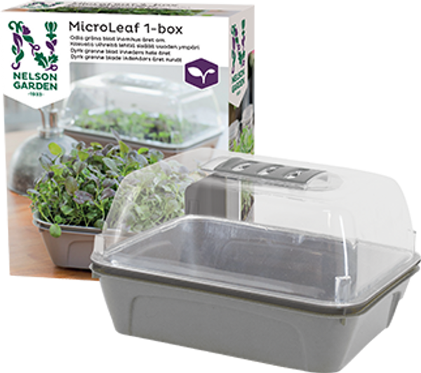 Minidrivhus -  Micro Leaf 1-boks
