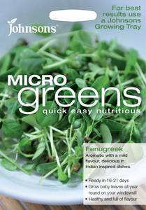 Bilde av Micro Greens, Bukkehornkløver