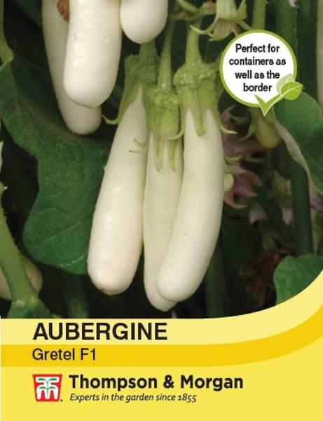 Aubergine 'Gretel' F1 - Solanum melongena