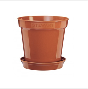 Bilde av Plastpotte 38,1 cm, brun
