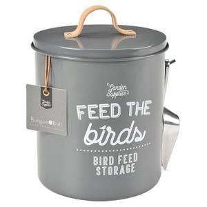 Bilde av Fuglematboks - grå