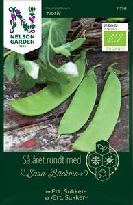 Bilde av Ert 'Norli' - Sukkerert, Organic