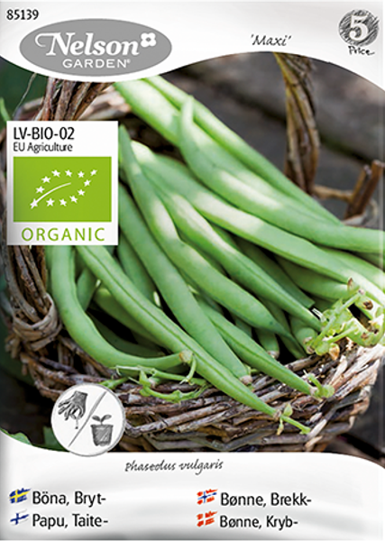 Bønne 'Maxi' - Brekkbønne - Organic