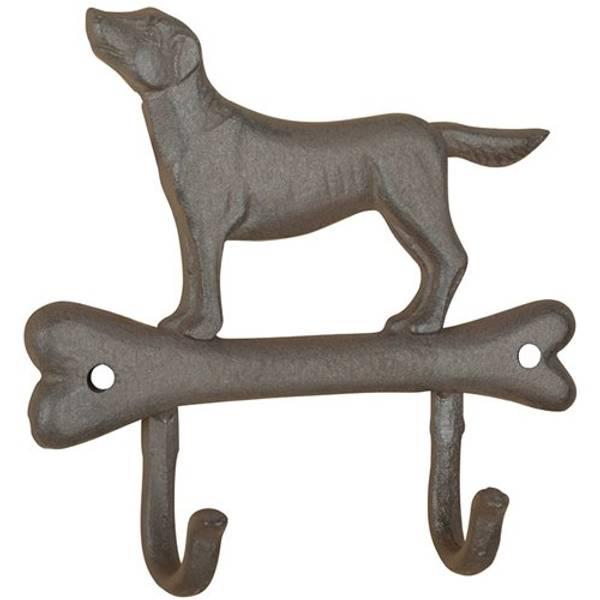 Knaggrekke 2 kroker - Hund stående