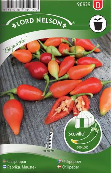 Chilipepper 'Biquinho' - Capsicum annuum