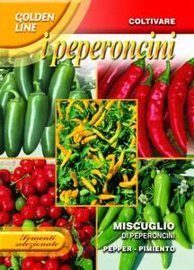 Bilde av Chilipepper 'Mix' - Capsicum chinense